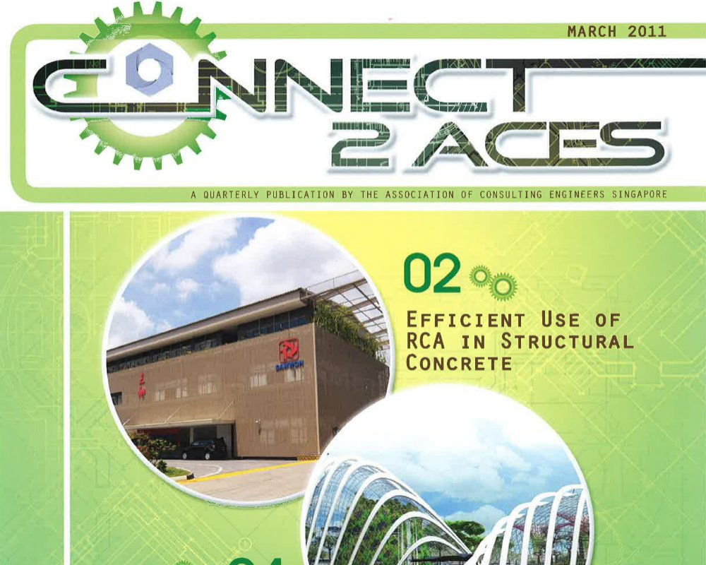 Efficient use of RCA in structural concrete