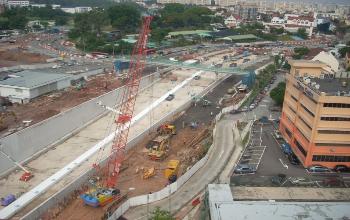 01F-Photo-Gallery LTA Contract 3370C - Construction of Upper Paya Lebar Underpass
