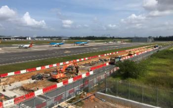 18E-Photo-Gallery Takenaka – Enhancements of Airside Facilities at Seletar Airport